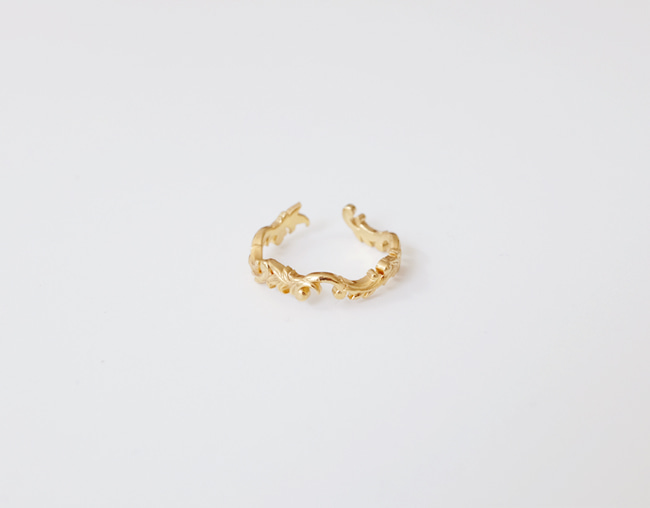 Antique Wave Ring