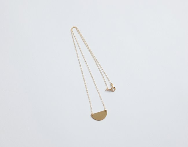 Semicircle Necklace
