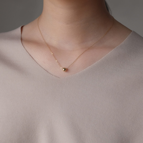 6mm Ball Necklace (3colors) 실버 소재 추가