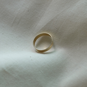 14k gold 3.5mm Plat Ring