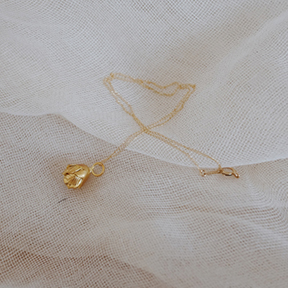 Gold Tulip Necklace