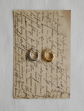 Vintage Ring Earring
