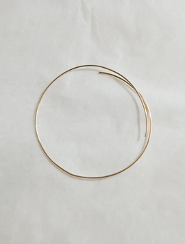 Simple Ring Bracelet -Gold, Rose Gold