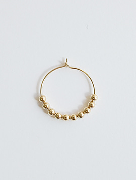 Bubble 20 Ring Earring