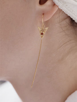 Flower Wing Rong Earring