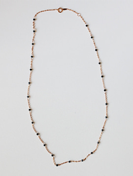 14k gold Spinel Necklace