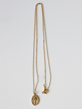 14k Gold Maria Simple Necklace (2 colors)