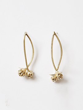Mini Flower Drop Earring
