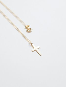 Gold Cross Necklace ver.2