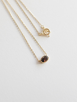 14k Brown Necklace