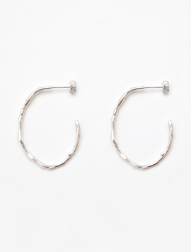 Mellow Scent Earring - Silver Color