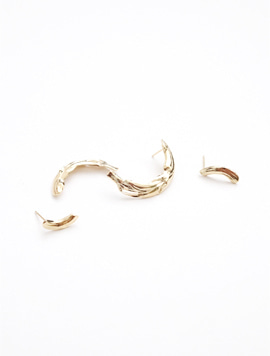 Moon Piece Set Earring