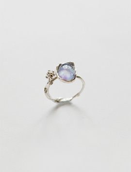 Dewy Branch Ring  (Silver)