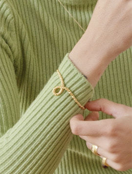 Bold Rope Bangle